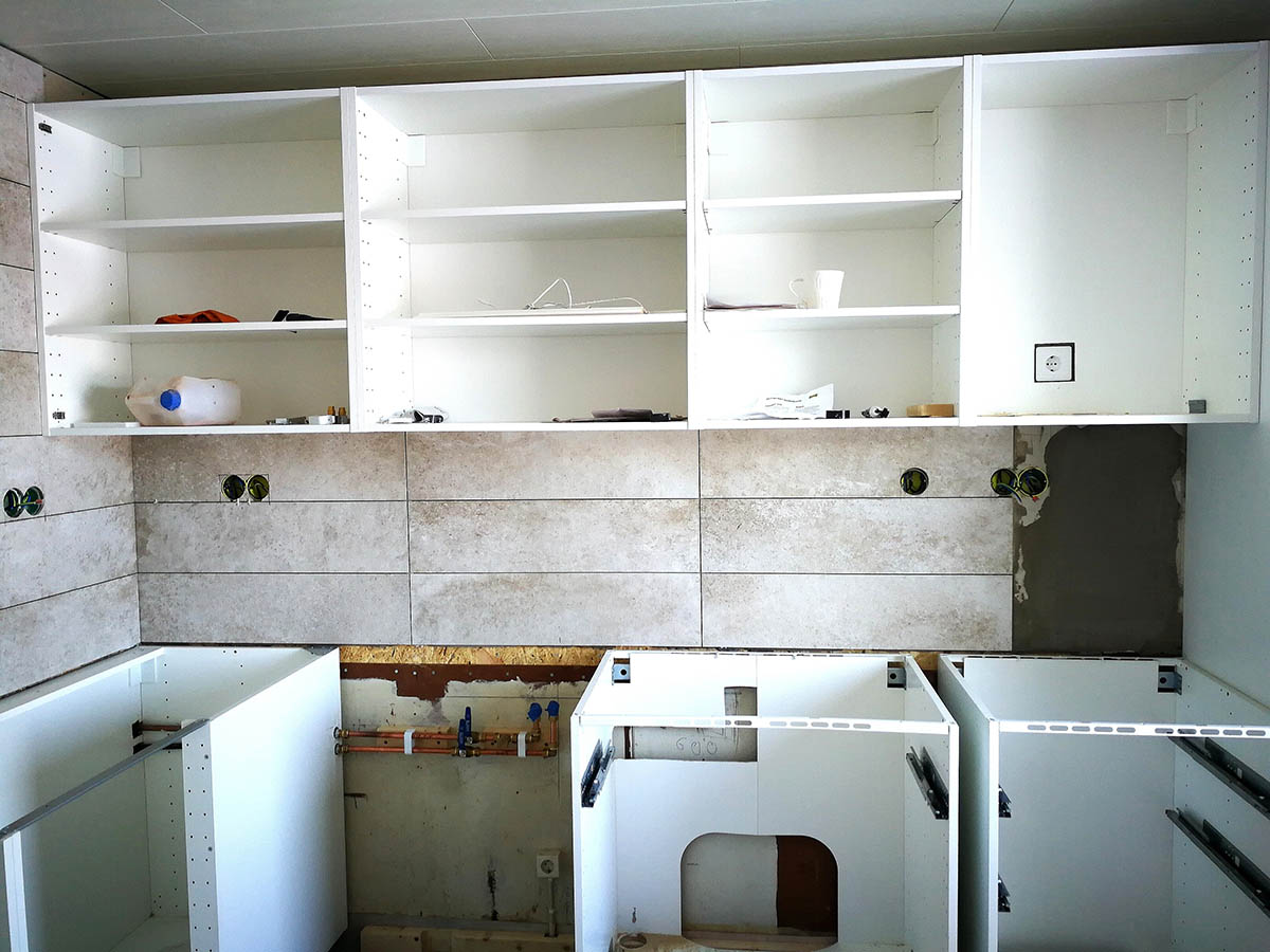 kitchen cupboards renovation