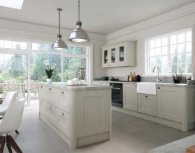 Oakgrain Grey Cambridge Kitchen