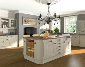 Paintable Shaker Kitchen