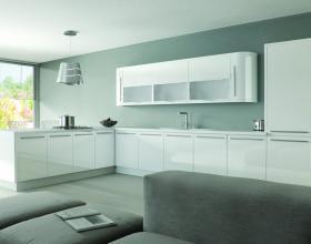 Ultra Gloss White Kitchen