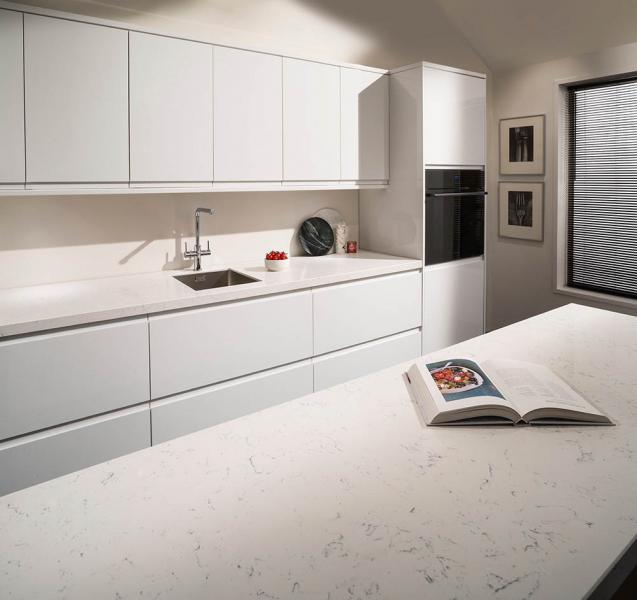 marble kitchen worktop photo