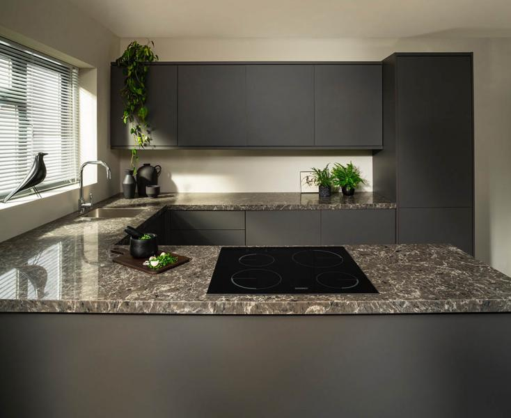 granite kitchen worktop photo